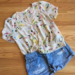 Pins + Needles spring sheer blouse